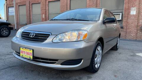 2008 Toyota Corolla for sale at Rocky's Auto Sales in Worcester MA