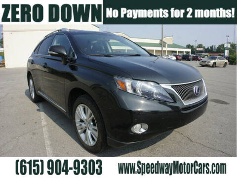 2011 Lexus RX 450h for sale at Speedway Motors in Murfreesboro TN