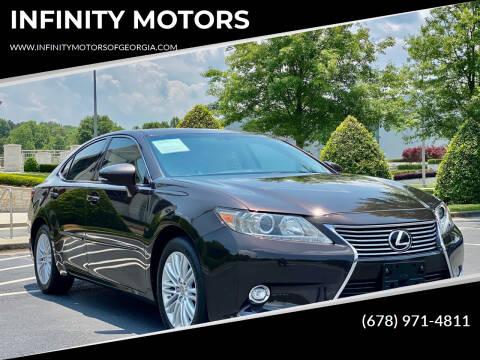 2014 Lexus ES 350 for sale at INFINITY MOTORS in Gainesville GA
