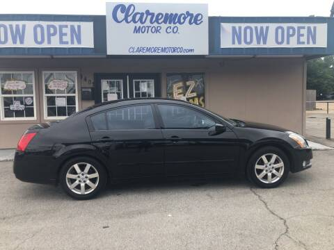 2004 Nissan Maxima for sale at Claremore Motor Company in Claremore OK