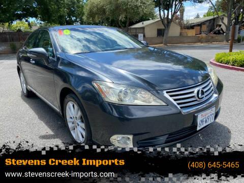 2010 Lexus ES 350 for sale at Stevens Creek Imports in San Jose CA