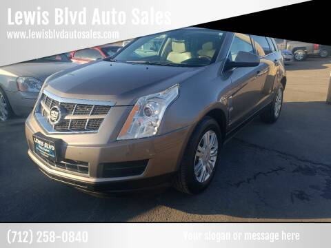 2011 Cadillac SRX for sale at Lewis Blvd Auto Sales in Sioux City IA