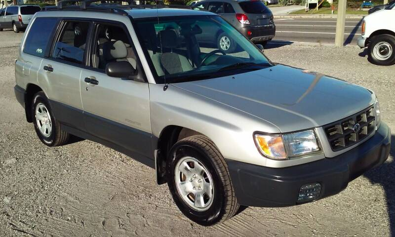 2000 Subaru Forester for sale at Pinellas Auto Brokers in Saint Petersburg FL