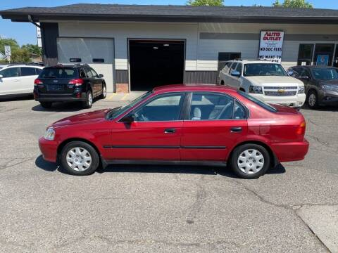 1999 Honda Civic for sale at Auto Outlet in Billings MT