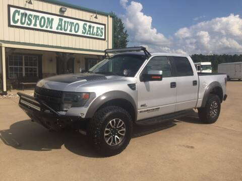 2013 Ford F-150 for sale at Custom Auto Sales - AUTOS in Longview TX