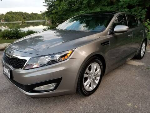2012 Kia Optima for sale at Ultra Auto Center in North Attleboro MA