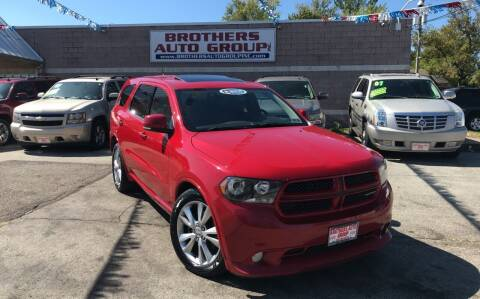 2011 Dodge Durango for sale at Brothers Auto Group in Youngstown OH