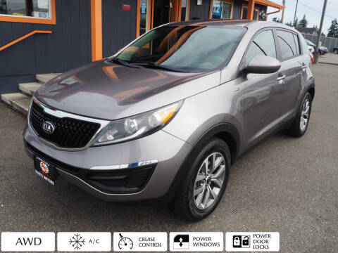 2014 Kia Sportage for sale at Sabeti Motors in Tacoma WA