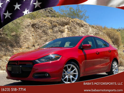 2013 Dodge Dart for sale at Baba's Motorsports, LLC in Phoenix AZ