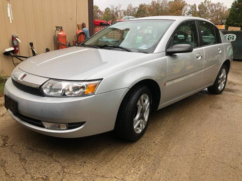 2003 Saturn Ion for sale at Central Jersey Auto Trading in Jackson NJ