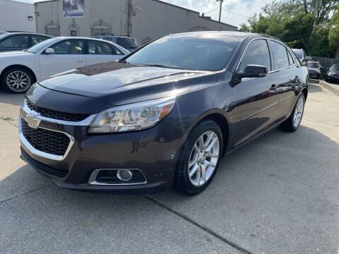 2015 Chevrolet Malibu for sale at T & G / Auto4wholesale in Parma OH