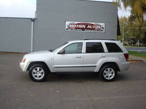 2009 Jeep Grand Cherokee for sale at Motion Autos in Longview WA