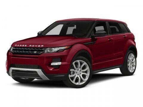 2015 Land Rover Range Rover Evoque for sale at J T Auto Group in Sanford NC