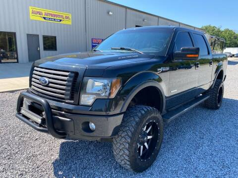 2012 Ford F-150 for sale at Alpha Automotive in Odenville AL