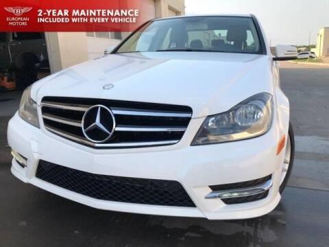 2014 Mercedes-Benz C-Class for sale at European Motors Inc in Plano TX