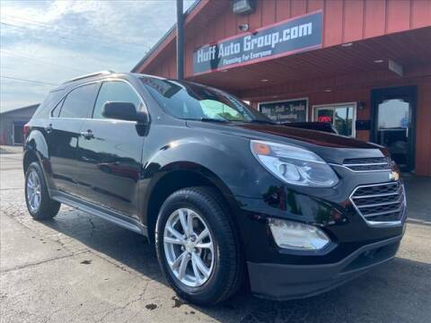 2017 Chevrolet Equinox for sale at HUFF AUTO GROUP in Jackson MI