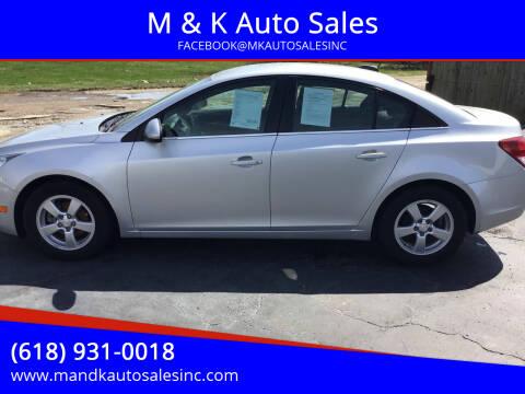 2016 Chevrolet Cruze Limited for sale at M & K Auto Sales in Granite City IL