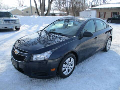 2014 Chevrolet Cruze for sale at RJ Motors in Plano IL