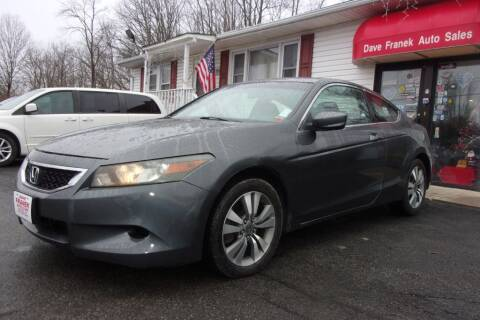 2008 Honda Accord for sale at Dave Franek Automotive in Wantage NJ