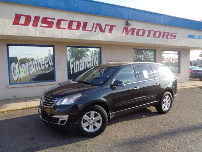 2013 Chevrolet Traverse for sale at Discount Motors in Pueblo CO