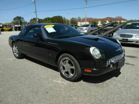 2003 Ford Thunderbird for sale at Kelly & Kelly Supermarket of Cars in Fayetteville NC