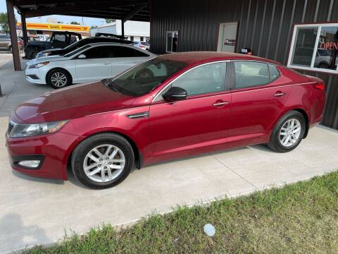 2013 Kia Optima for sale at Angels Auto Sales in Great Bend KS