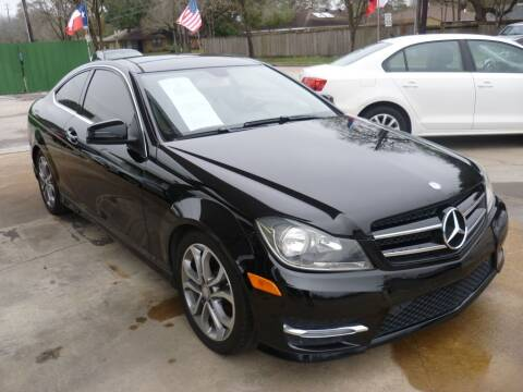 2015 Mercedes-Benz C-Class for sale at Auto Outlet Inc. in Houston TX
