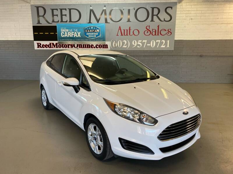 2014 Ford Fiesta for sale at REED MOTORS LLC in Phoenix AZ