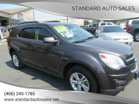 2013 Chevrolet Equinox for sale at Standard Auto Sales in Billings MT
