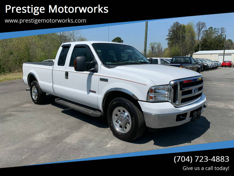 2006 Ford F-250 Super Duty for sale at Prestige Motorworks in Concord NC
