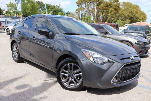 2019 Toyota Yaris for sale at OCEAN AUTO SALES in Miami FL