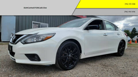 2017 Nissan Altima for sale at DuncanMotorcar.com in Buffalo NY