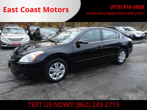 2011 Nissan Altima for sale at East Coast Motors in Lake Hopatcong NJ