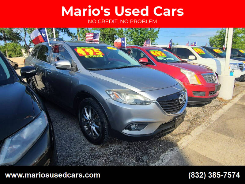 2014 Mazda CX-9 for sale at Mario's Used Cars in Houston TX