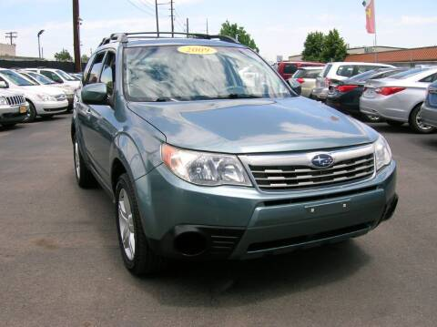 2009 Subaru Forester for sale at Avalanche Auto Sales in Denver CO