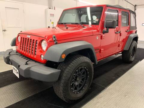 2014 Jeep Wrangler Unlimited for sale at TOWNE AUTO BROKERS in Virginia Beach VA
