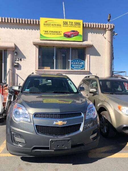2013 Chevrolet Equinox for sale at Budget Auto Deal and More Services Inc in Worcester MA