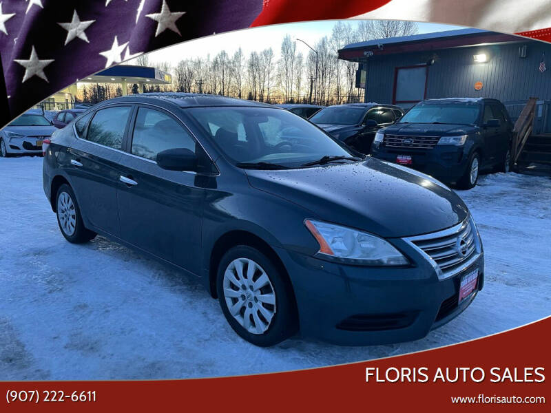 2013 Nissan Sentra for sale at FLORIS AUTO SALES in Anchorage AK