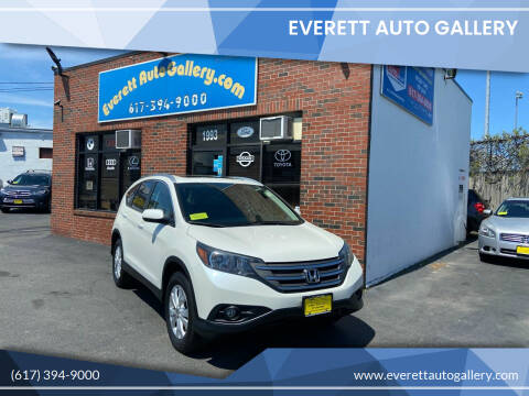 2013 Honda CR-V for sale at Everett Auto Gallery in Everett MA