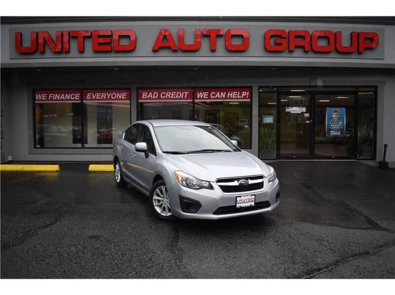 2014 Subaru Impreza for sale at United Auto Group in Putnam CT