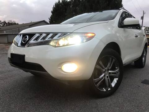 2009 Nissan Murano for sale at ATLANTA AUTO WAY in Duluth GA