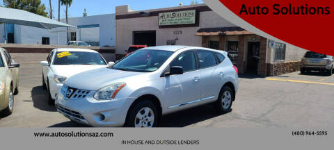 2011 Nissan Rogue for sale at Auto Solutions in Mesa AZ