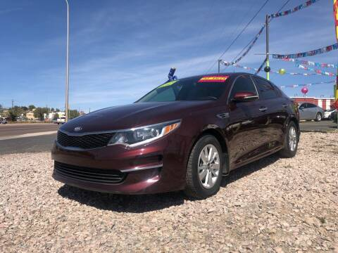 2018 Kia Optima for sale at 1st Quality Motors LLC in Gallup NM
