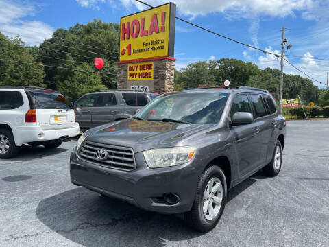 2010 Toyota Highlander for sale at No Full Coverage Auto Sales in Austell GA