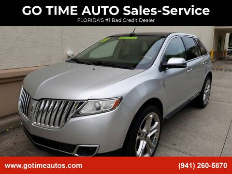 2013 Lincoln MKX for sale at Go Time Automotive in Sarasota FL