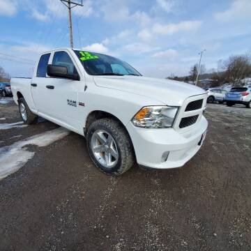 2015 RAM Ram Pickup 1500 for sale at ALL WHEELS DRIVEN in Wellsboro PA