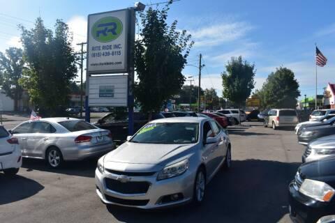 2014 Chevrolet Malibu for sale at Rite Ride Inc in Murfreesboro TN