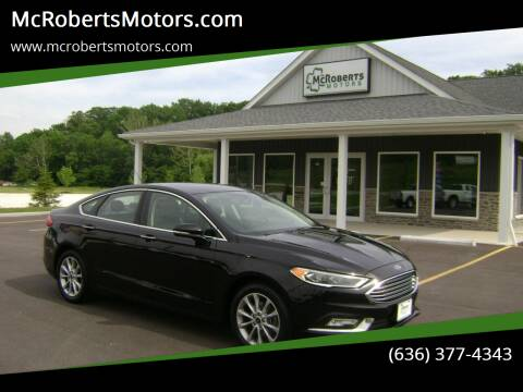 2017 Ford Fusion for sale at McRobertsMotors.com in Warrenton MO