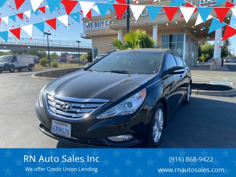 2013 Hyundai Sonata for sale at RN Auto Sales Inc in Sacramento CA