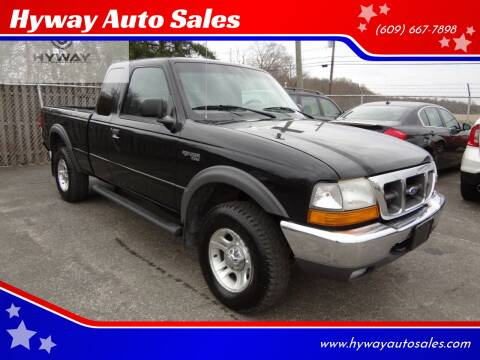 2000 Ford Ranger for sale at Hyway Auto Sales in Lumberton NJ